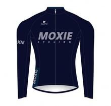 Moxie Cycling Gear Men's 2021 Blue Long Sleeve WL
