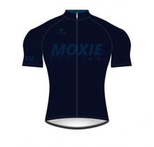 Moxie Cycling Gear Men's 2021 Blue Short Sleeve WS