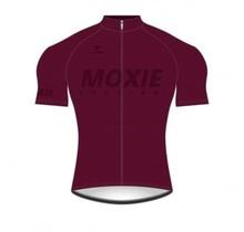 Moxie Cycling Gear Men's 2021 Merlot Short Sleeve WS