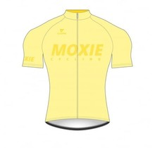 Moxie Cycling Gear Men's 2021 Yellow Short Sleeve WS