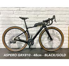 Aspero GRX RX810 48cm - Black/Gold