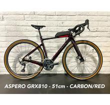 Aspero GRX RX810 51cm - Carbon/Red