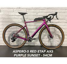 Aspero-5 Red eTap AXS XPLR Purple Sunset - 54cm