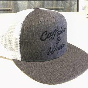 Caffeine & Watts Grey Flatbrim