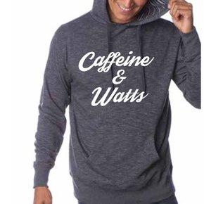 Caffeine & Watts Hoodie - White