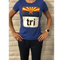 AZ Flag Tri Tee Ladies'