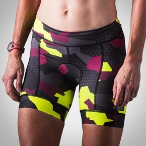 Wattie Ink Women's Urban Assault Tri Short