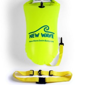 New Wave Swim Buoy - Yellow