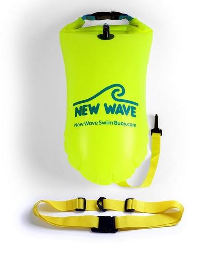 56711c14a27 New Wave Swim Buoy - Yellow - Moxie Multisport