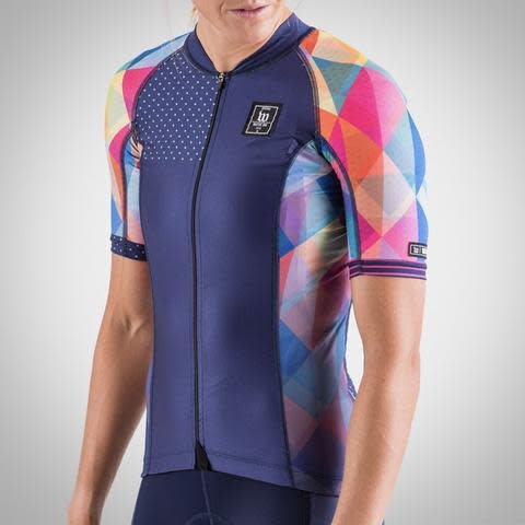 Wattie Ink Wattie Ink Women's Prism Contender Cycling Jersey