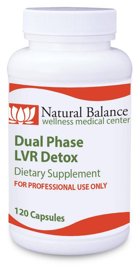 Gastrointestinal Support DUAL PHASE LVR DETOX 120CT CAPSULES (PROTHERA/KLAIRE)