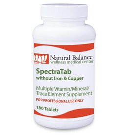 Basic SPECTRATAB W/O IRON AND COPPER 180 CT (PROTHERA/KLAIRE) (9oz)