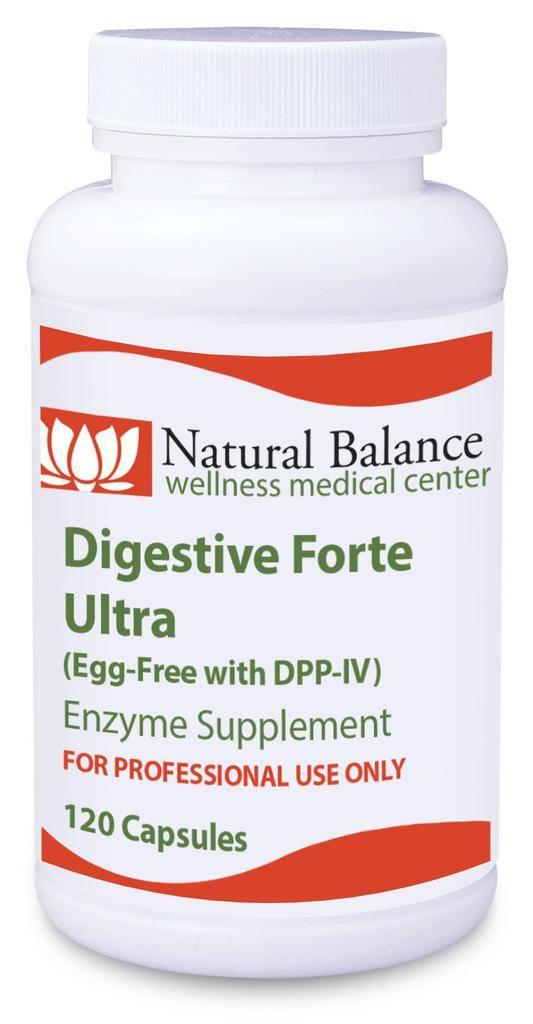 DIGESTIVE FORTE ULTRA EGG FREE 120 CT (PROTHERA/KLAIRE) (VITAL-ZYMES FORTE)