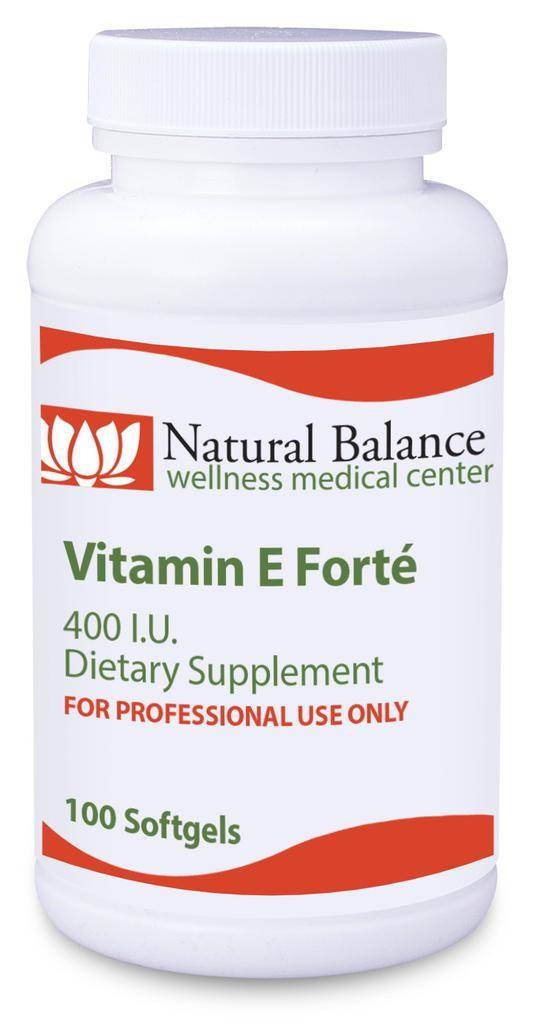 Basic VITAMIN E FORTE 100 CT (PROTHERA/KLAIRE) (5oz)
