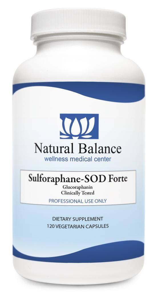 Basic SULFORAPHANE-SOD FORTE 120CT (XYMOGEN)