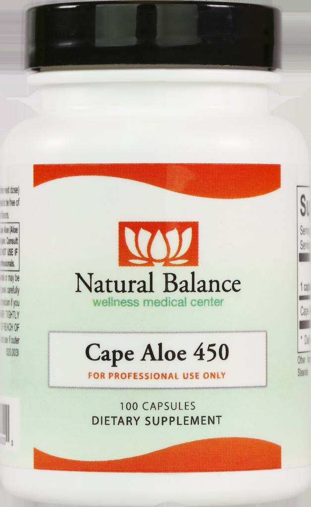Basic CAPE ALOE 450 100CT (ORTHO MOLECULAR)