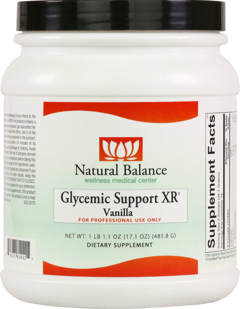 HPA Vanilla GLYCEMIC SUPPORT XR 485.8G (ORTHO MOLECULAR)