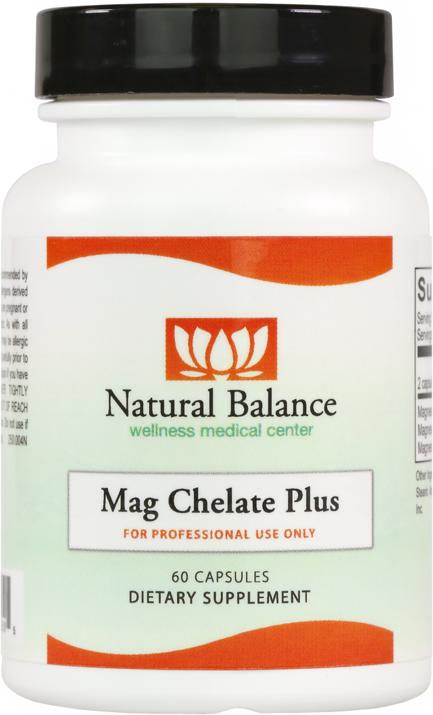 Basic MAG CHELATE PLUS CAPSULES 60CT (ORTHO MOLECULAR)