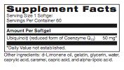 Basic Ubiquinol 60ct (Replacement for SR-CoQ10 w/PPQ) (PROTHERA/KLAIRE) (Same Instructions)