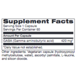 Mood GABA FORTE 60 CT (PROTHERA/KLAIRE) (REPLACEMENT FOR GABA FORTE: Same instructions)