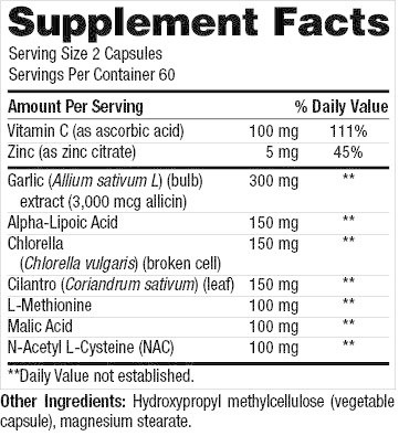 Gastrointestinal Support CHELEBIND XR 120 CT (NUMEDICA) (4oz)