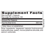 Biomed TAURINE, 100 CT (PROTHERA/KLAIRE)
