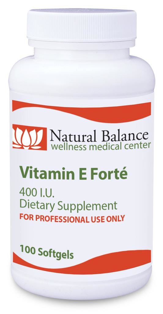 Basic *VITAMIN E FORTE 100 CT (PROTHERA/KLAIRE) (5oz) (Do not order until Kirkman is out)