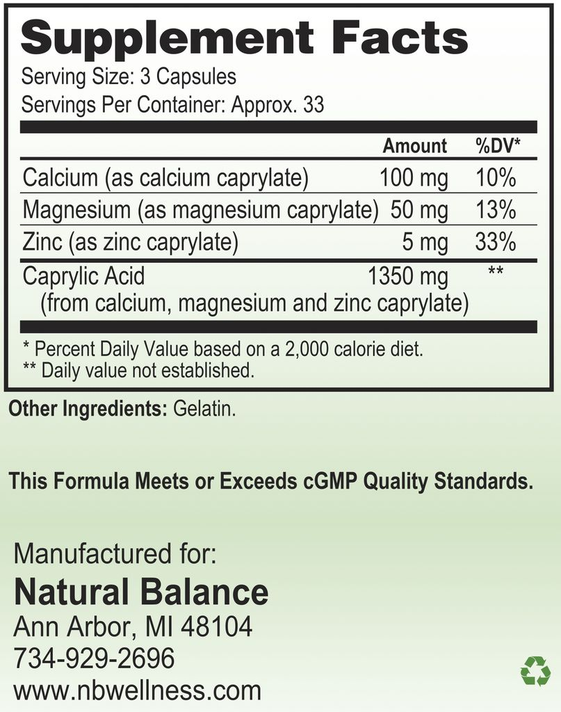 Gastrointestinal Support MICROBE GX 100 CT (NUMEDICA)
