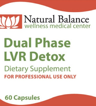 Gastrointestinal Support DUAL PHASE LVR DETOX 60CT CAPSULES (PROTHERA/KLAIRE)