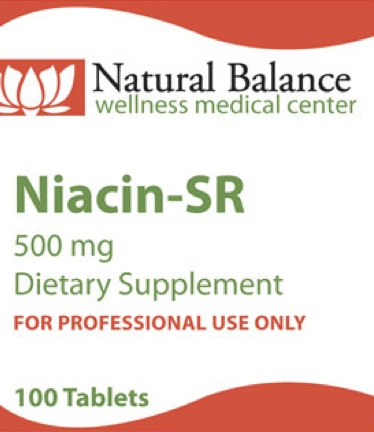 Biomed NIACIN SR 500MG 100CT (PROTHERA/KLAIRE)