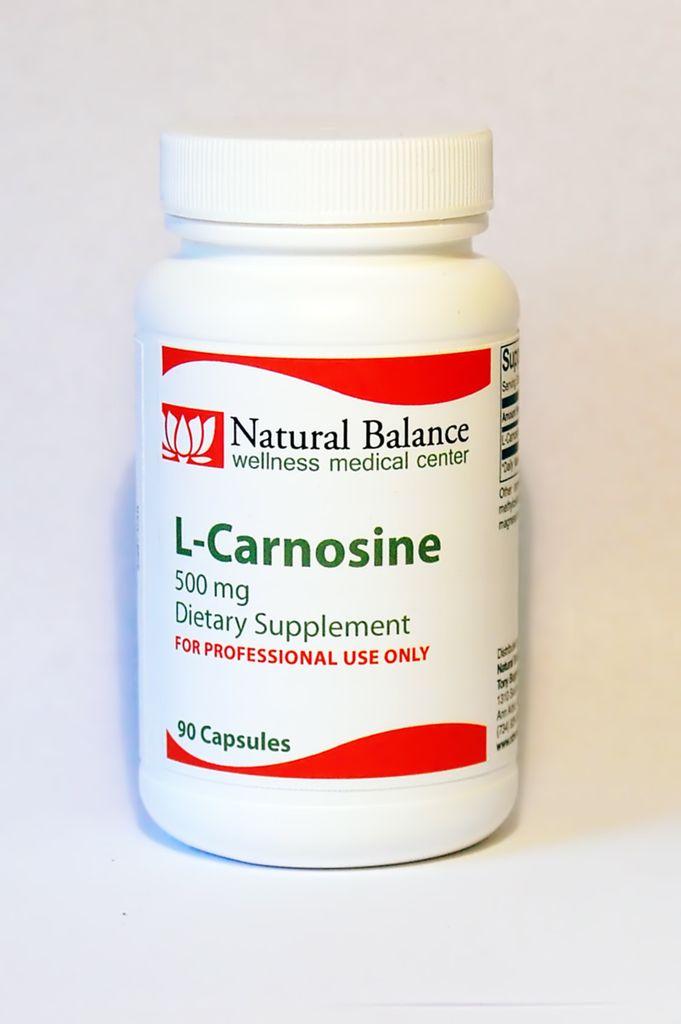 Biomed L-CARNOSINE 500 MG 90 CT (PROTHERA/KLAIRE) (3oz)