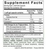 Basic EPA/DHA XR 180CT (ORTHO MOLECULAR)