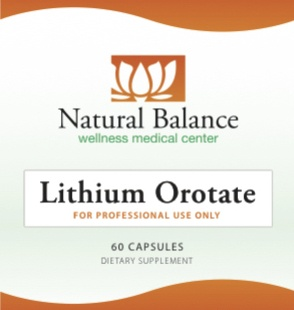 Biomed **LITHIUM OROTATE 60CT (ORTHO MOLECULAR)