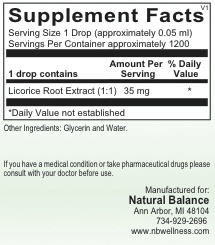 HPA LICORICE ROOT LIQ 2OZ (ORTHO MOLECULAR) (5oz)