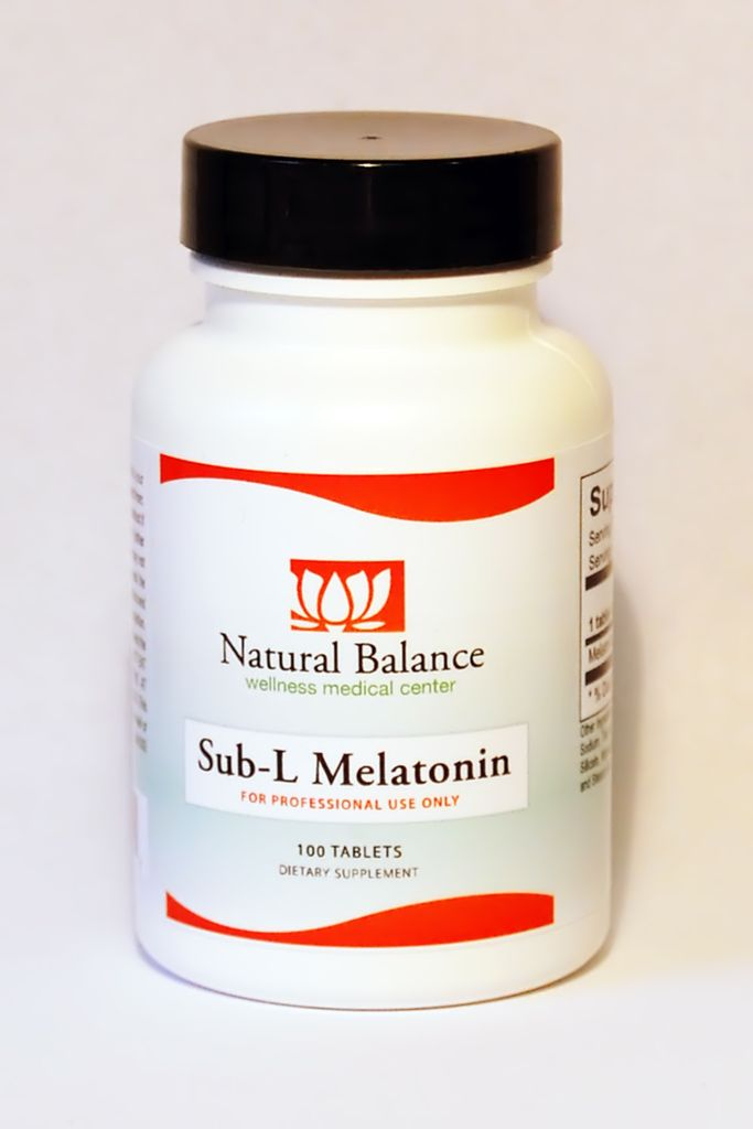 HPA SUB-L MELATONIN 1MG 100CT (ORTHO MOLECULAR)