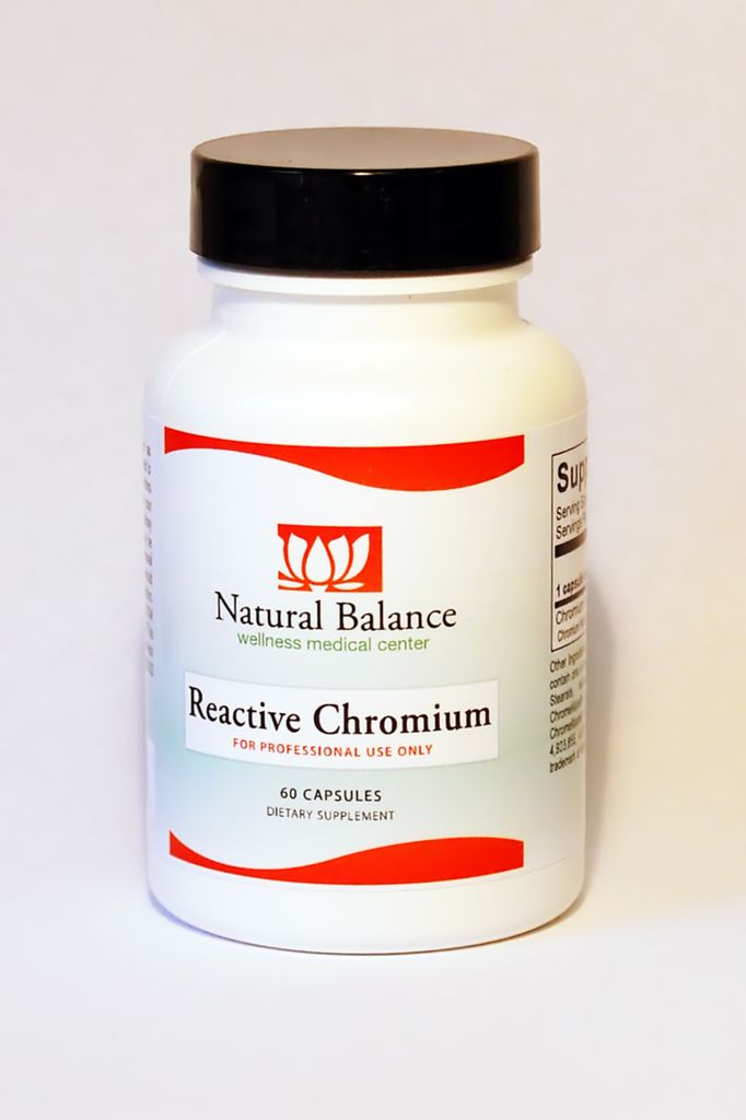 HPA REACTIVE CHROMIUM  60 CT (ORTHO MOLECULAR)