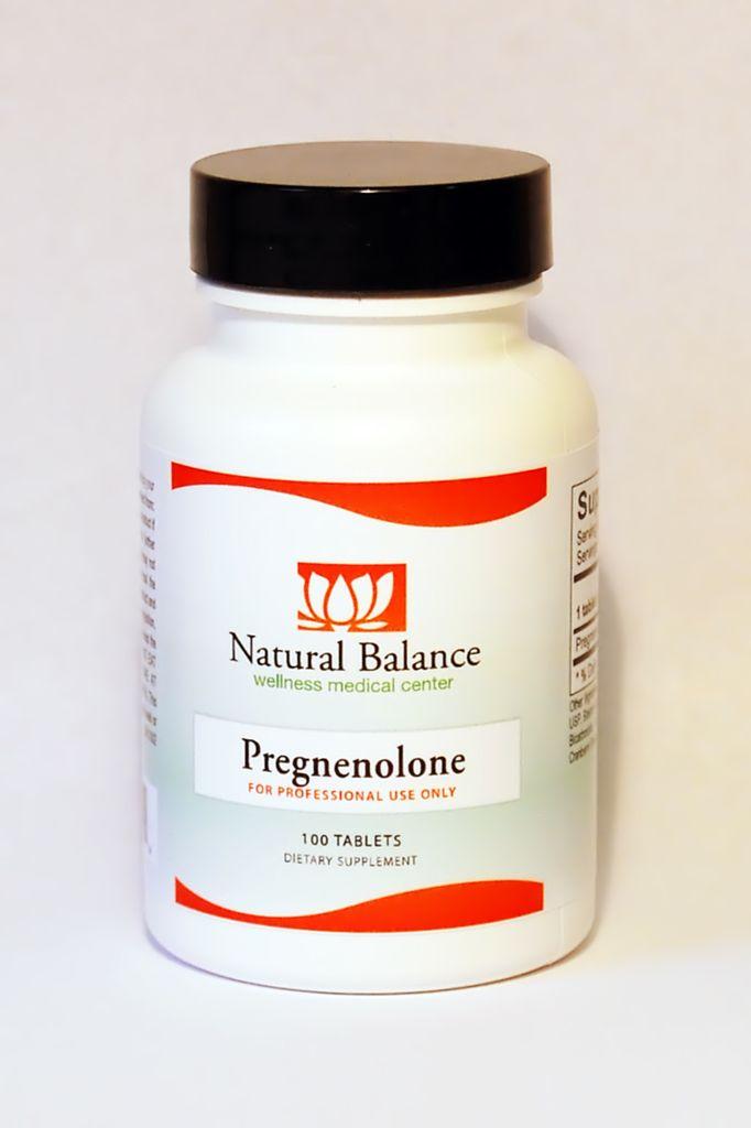 HPA SUB-L PREGNENOLONE 100 TAB (ORTHO MOLECULAR) (1oz)