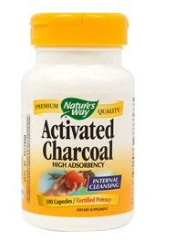 ACTIVATED CHARCOAL CAPSULES 100CT (KIRKMAN-Nature's Way)