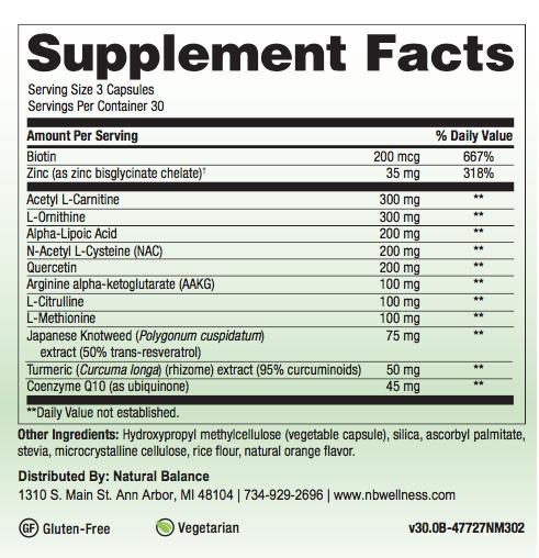 Biomed MITO-FORTE (PREVIOUSLY MITO-ATP)  90CT (NUMEDICA)