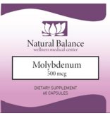 Biomed MOLYBDENUM 500 mcg (Pure/Douglas) (60 caps) (Replacement for Kirkman Molybdenum: New Instructions)