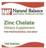 Biomed ZINC CHELATE 100 CT (PROTHERA/KLAIRE) (2oz)
