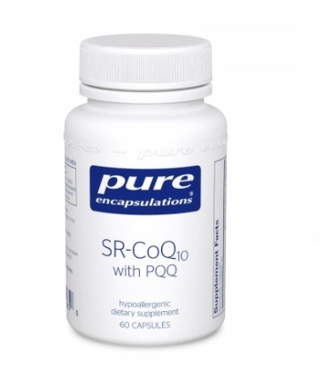 Basic SR-COQ10 with PPQ 60CT (PURE ENCAPSULATIONS)