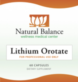 Biomed LITHIUM OROTATE 60CT (ORTHO MOLECULAR) (Same instructions as the Klair product)