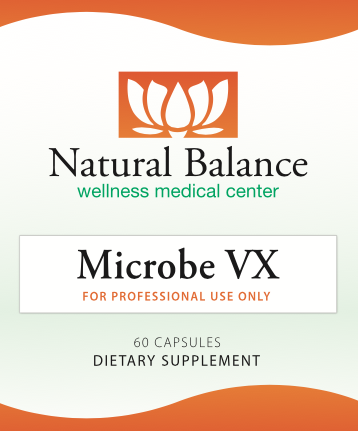 Gastrointestinal Support MICROBE VX 60 CT (ORTHO) (Replacement for MICROBE FX).
