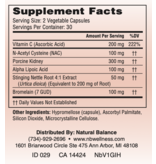 Gastrointestinal Support GI X HIST 60CT (NEUROBIOLOGIX) (New vendor, Same instructions as before)