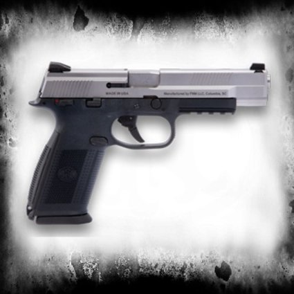 """FNH FNH FNS-9L 9mm 5"""", Black/Stainless"""