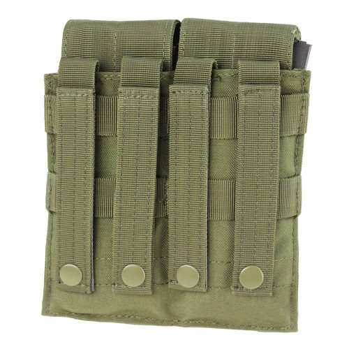 Condor Condor Double M4 Mag Pouch-Covered