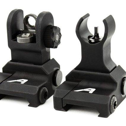 Aero AR15 Flip-Up Sight Set, Aero Precision