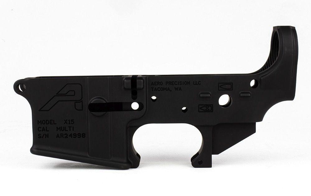 Aero AR15 Stripped Lower Receiver Gen 2, Aero Precision
