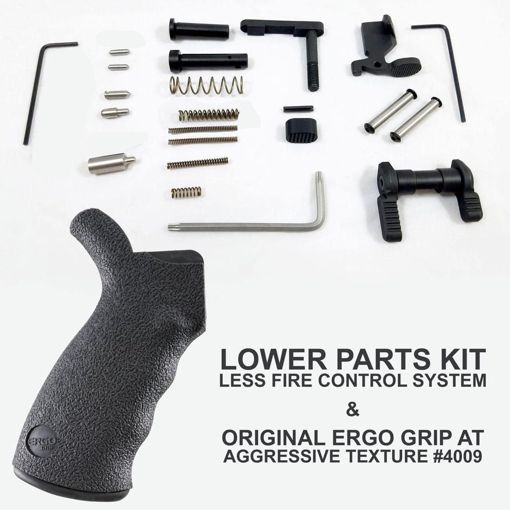 ERGO Enhanced Lower Parts Kit W/O Fire Control